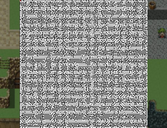 [Mini jeu] Generateur de maze 100x1010