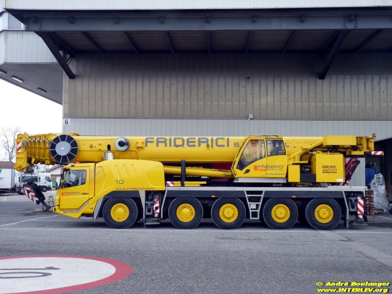 Les grues de FRIDERICI Special (Suisse) Frider14