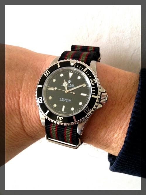 J'ai craqué..... Rolex Submariner. Img_1311