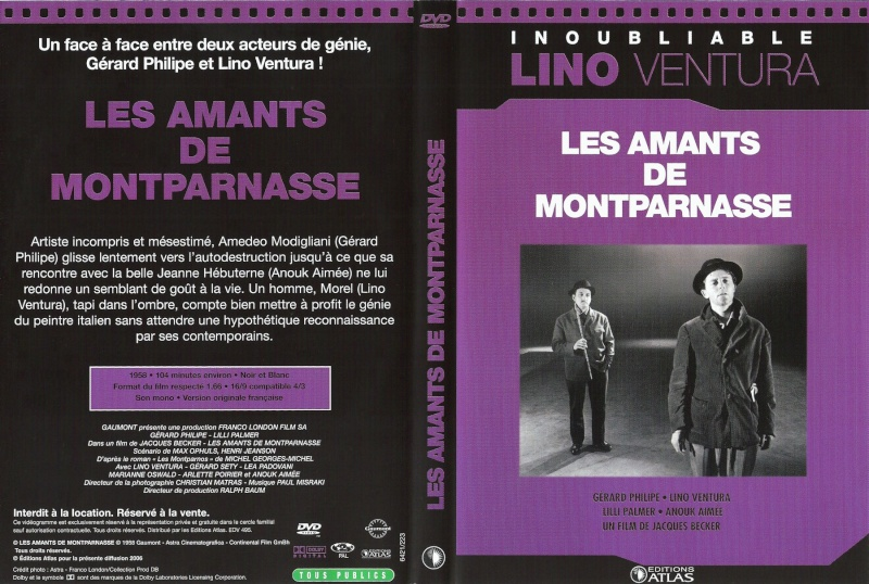Jaquette des films Lesama10