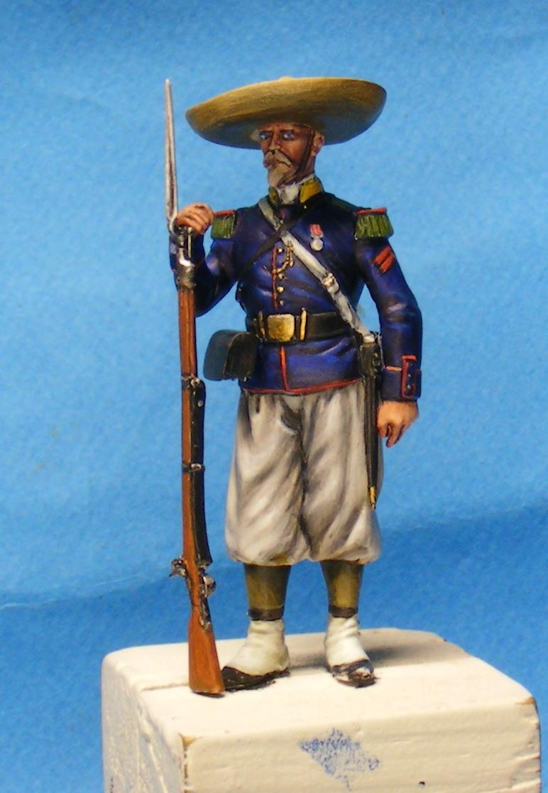 """l heure de la legende """"Legio Patria Nostra Mexique 1863 """" - Page 2 00117"""