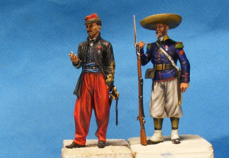 """l heure de la legende """"Legio Patria Nostra Mexique 1863 """" - Page 2 00611"""