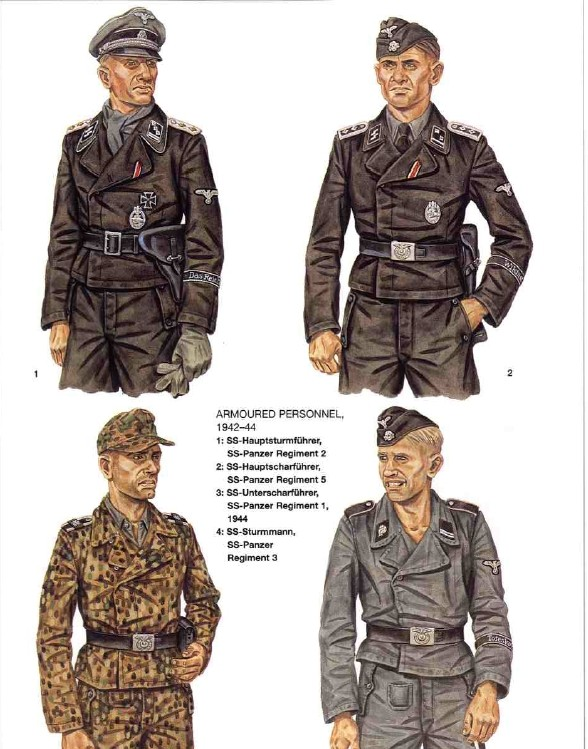 Tankiste allemand Verlinden Waffen10