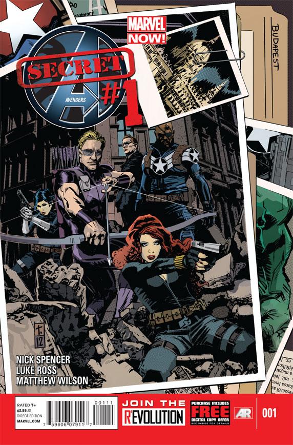 Secret Avengers #1 13501410
