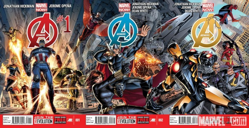 Avengers #1 50462610