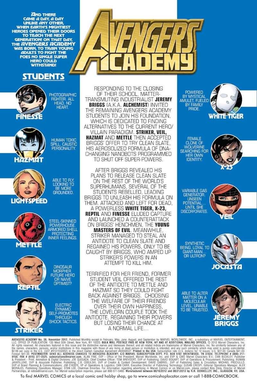 Avengers Academy : Final Exam (Spoiler) Prv13410
