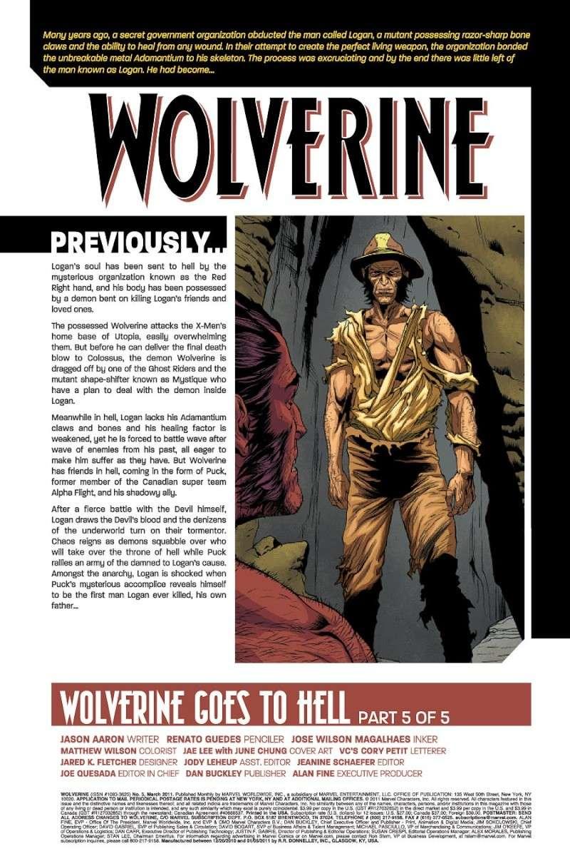 Wolverine #5 Prv75030
