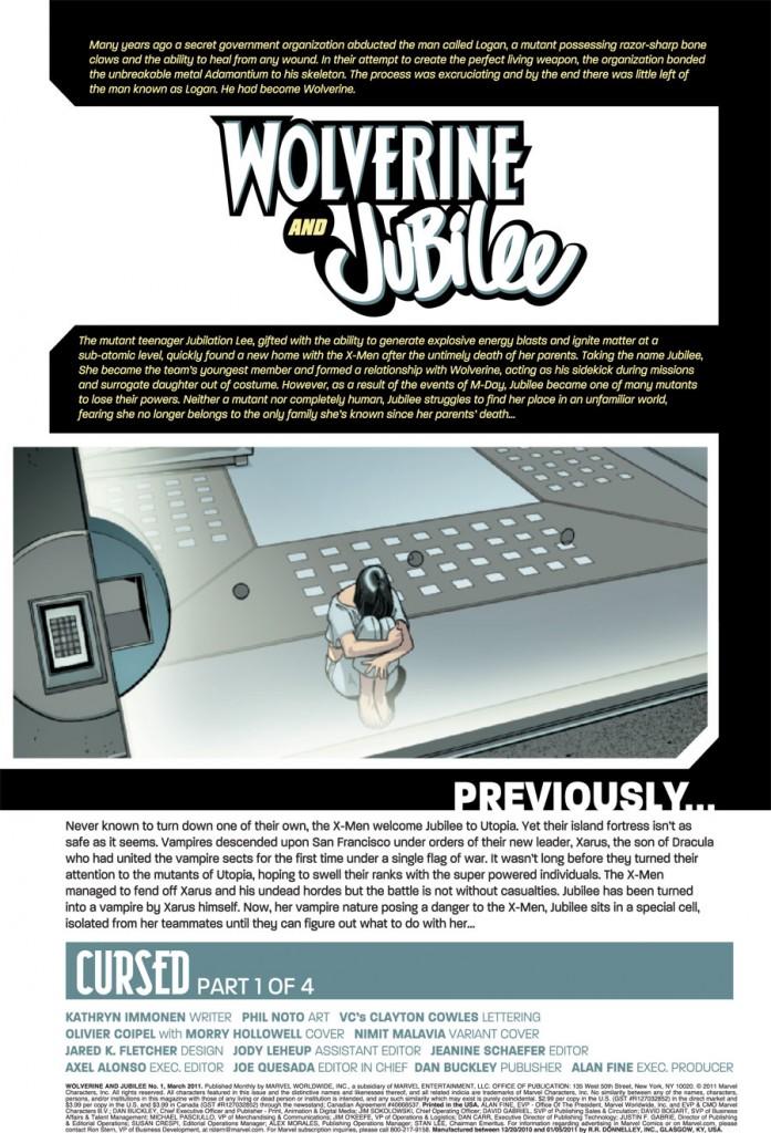 Wolverine and Jubilee #1 (of 4) Wolvju10