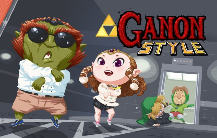 [Parodies]Gangnam Style Gannon10