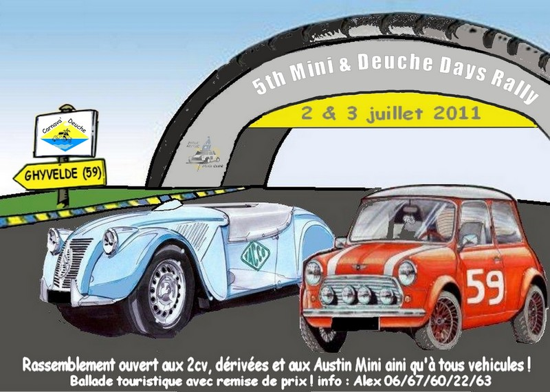 5th Mini & Deuche rally Days a GHYVELDE (59) 55514812