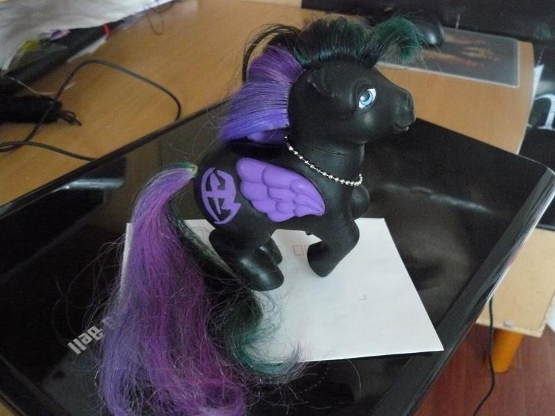 mes customs petit poney P1020825