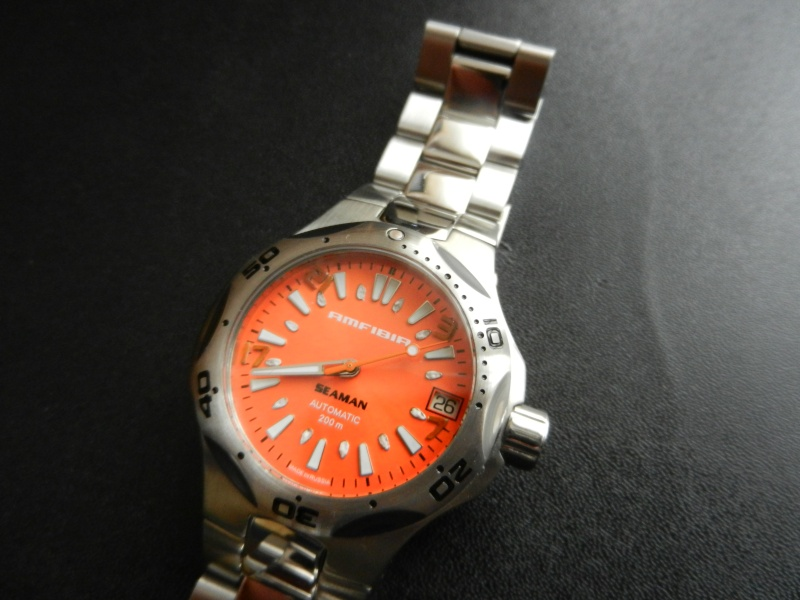 VOSTOK AMFIBIA SEAMAN ORANGE Dscn9715