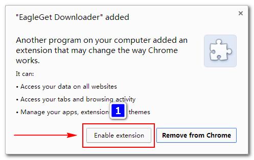 EagleGet 2.0.2.7 Phần mềm hỗ trợ download miễn phí mà đáng dùng Chrome11