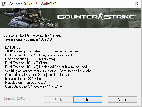 Counter-Strike 1.6 - WaRzOnE v1.6 Final Cs10