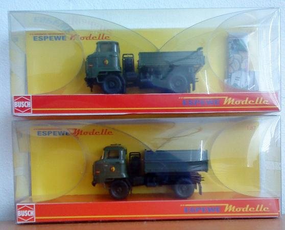 Modelle von Fahrzeugen der ehemaligen NVa 07010