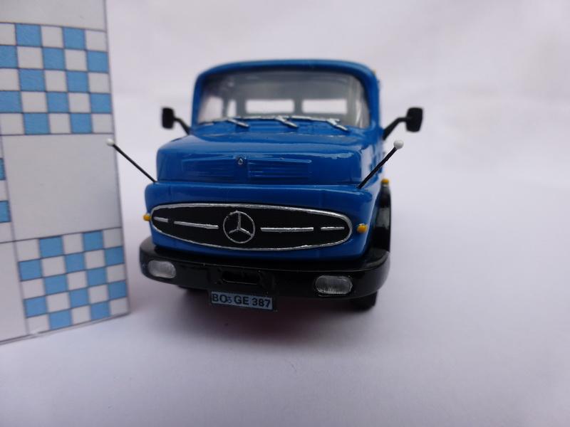 Mercedes Benz Rundhauber 1/87 von Kibri 0114
