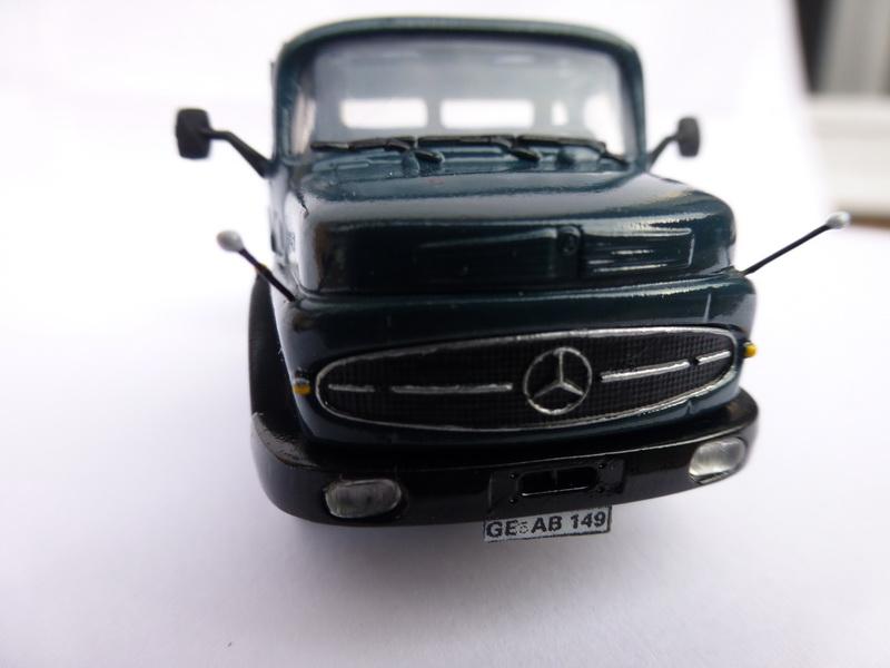 Mercedes Benz Rundhauber 1/87 von Kibri 1210