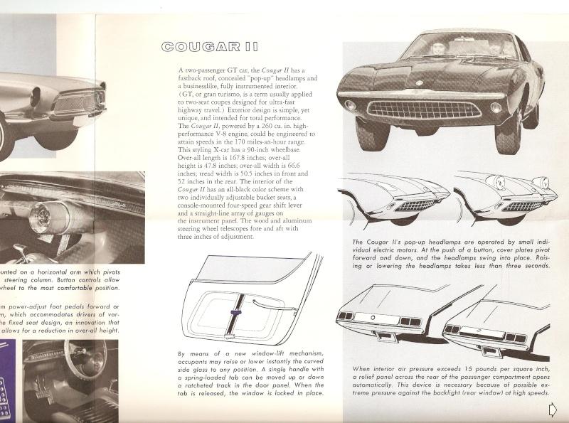 Pamphlet Styling-Cars: Experimental designs: Allegro-Cougar II-Mustang II Mustan14