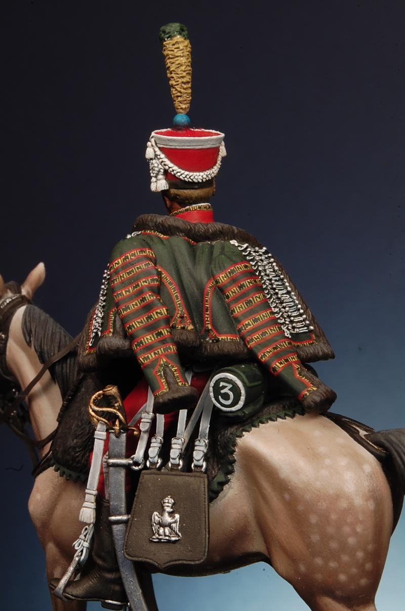 Trompette de Hussards du 7ème Régiment à Waterloo. 2014_110
