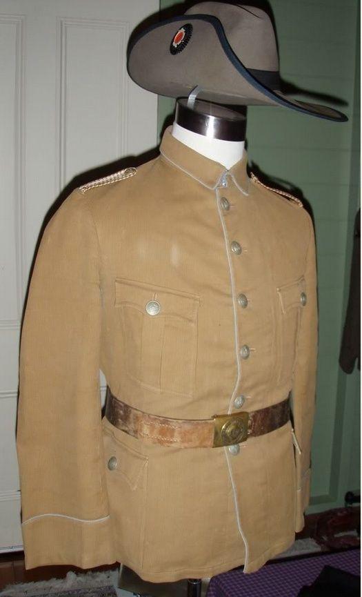 Uniformes et équipements des Troupes coloniales N11