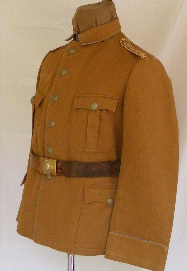 Uniformes et équipements des Troupes coloniales Rr11