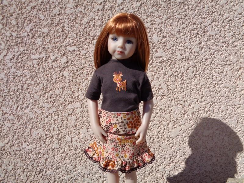 Sarah dans sa nouvelle tenue automnale, d'accord, c'est l'hiver, mais bon! Dsc00014