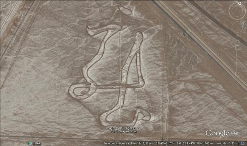 Idéogramme géant, Jiayuguan, Gansu - Rep. Pop. de Chine Ideo10