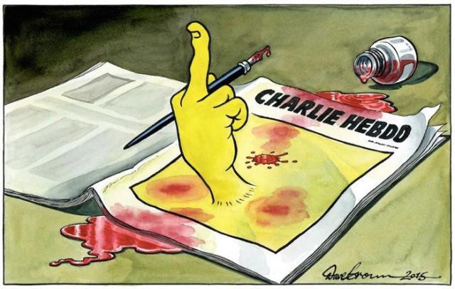 ATTENTAT à Charlie Hebdo : 12 morts. - Page 3 Tribut12