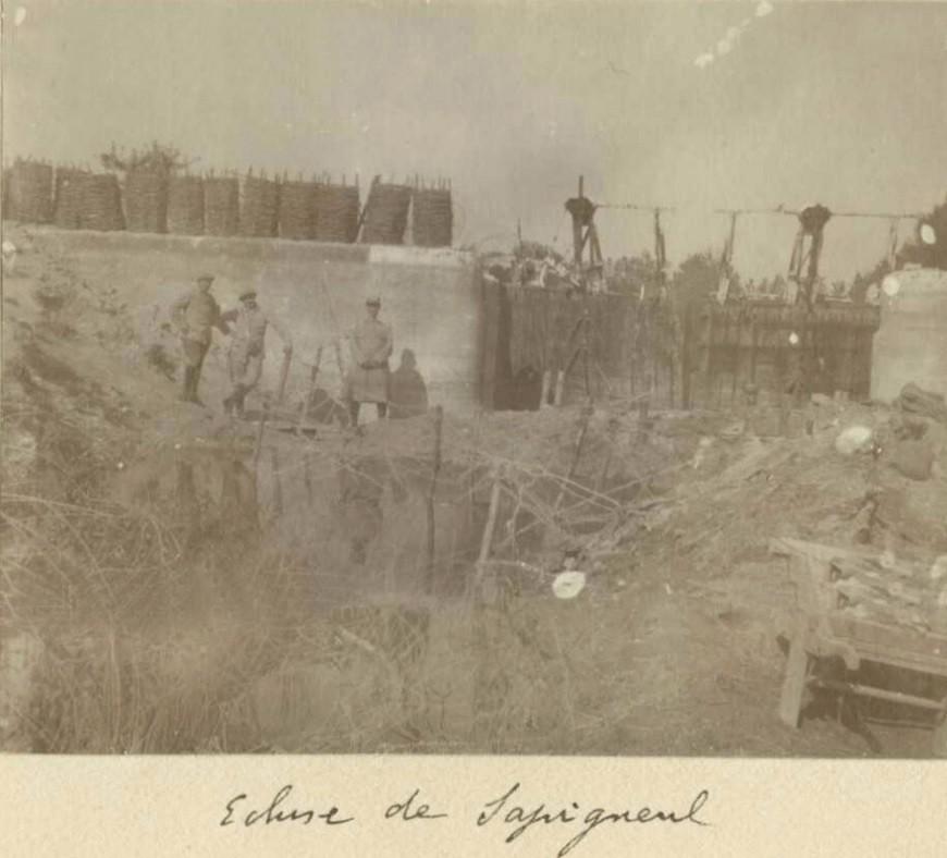 Albums de campagne du Lieutenant Jacques Ibled  1914-1915 Ecluse10