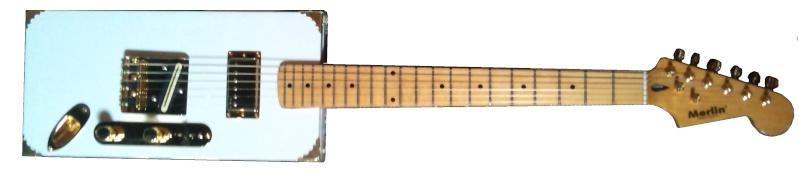 une seule guitare Merlin10