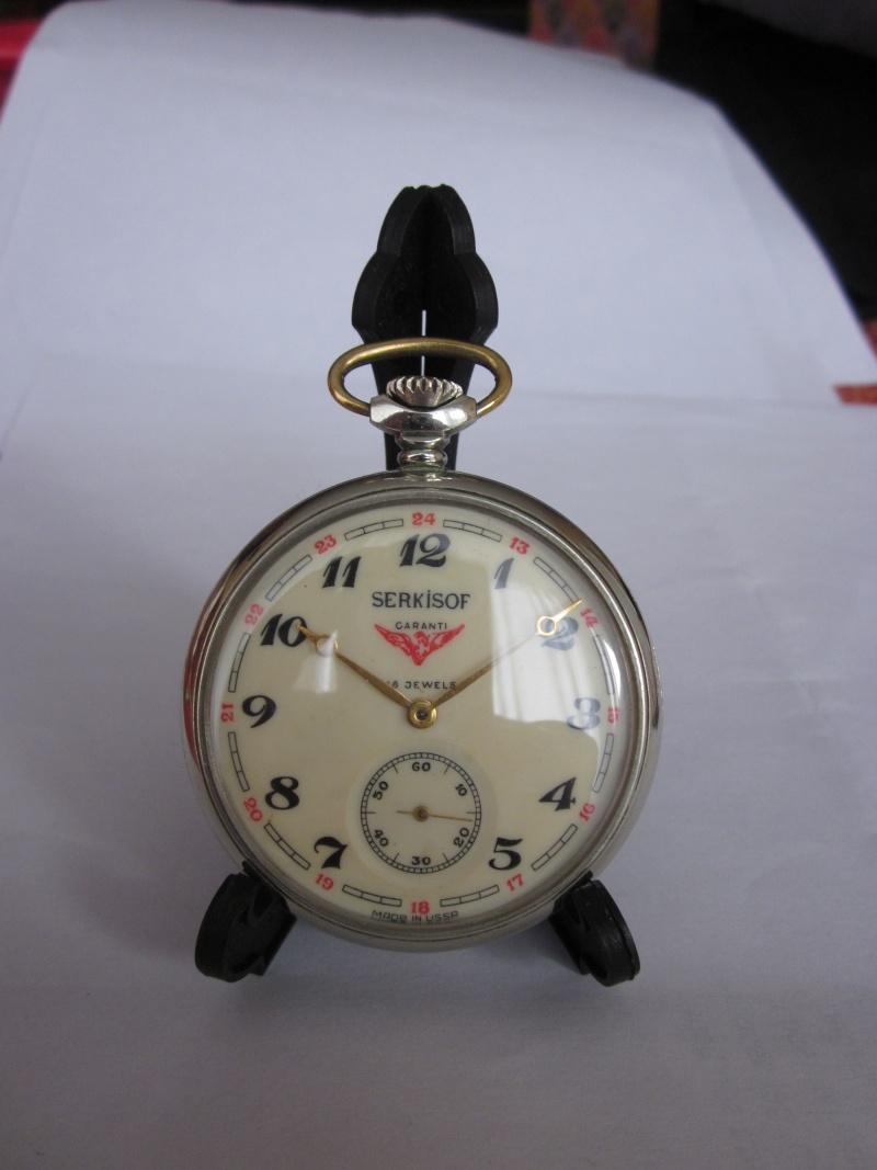 Exposer une montre de gousset : solution chinoise  00210