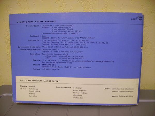Commercialisation de la première GS Notice11