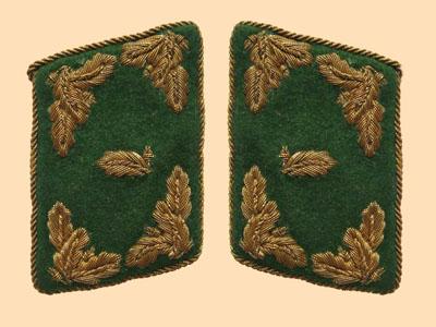 chasseurs allemands et service de foret 110
