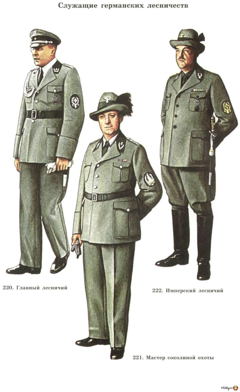 chasseurs allemands et service de foret 13075910