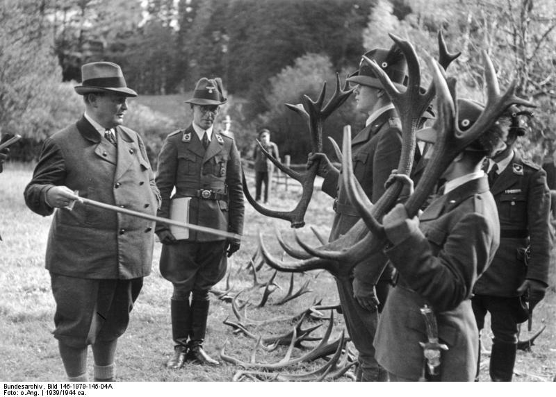 chasseurs allemands et service de foret Beispi10