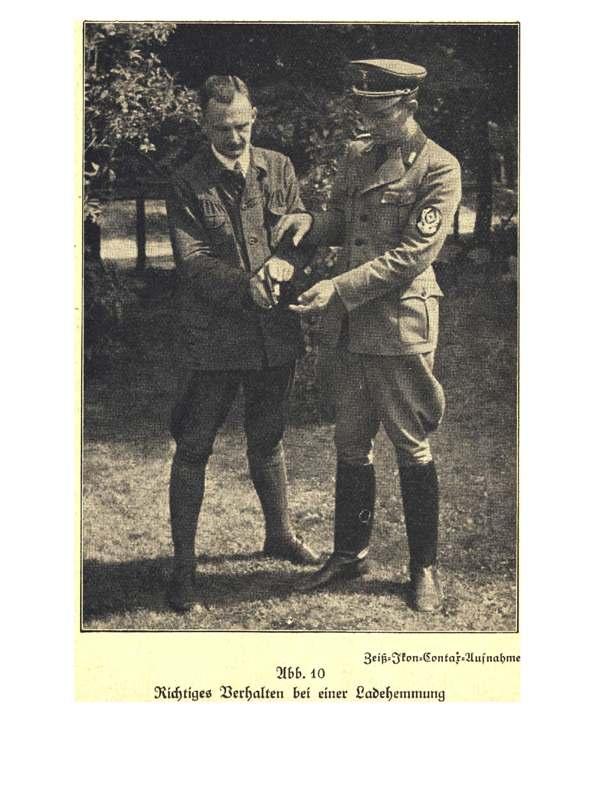 chasseurs allemands et service de foret Deutsc10