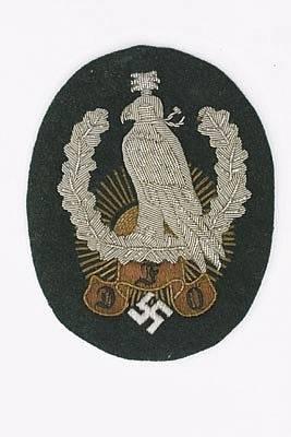 chasseurs allemands et service de foret Deutsc11