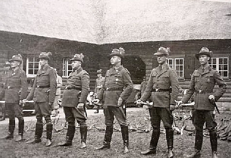chasseurs allemands et service de foret Jagd0210