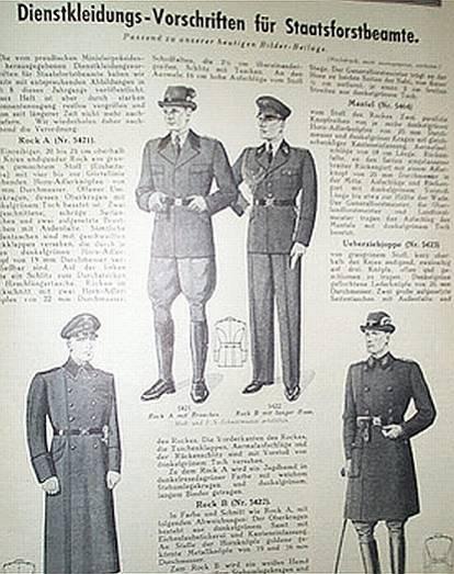 chasseurs allemands et service de foret Jagd0610
