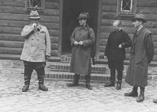 chasseurs allemands et service de foret Jagd1110