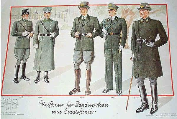 chasseurs allemands et service de foret Land-p10