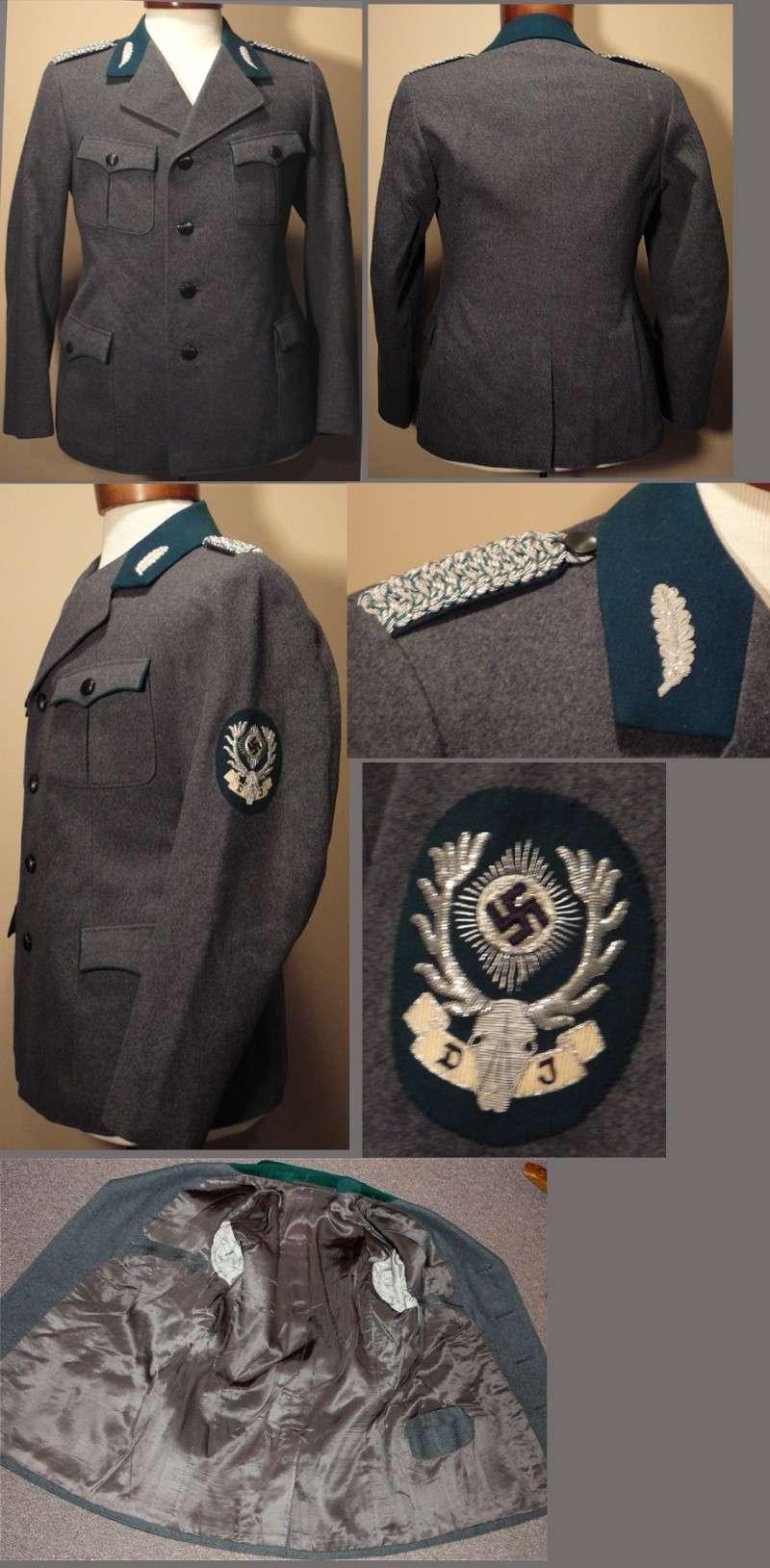 chasseurs allemands et service de foret Unifor10