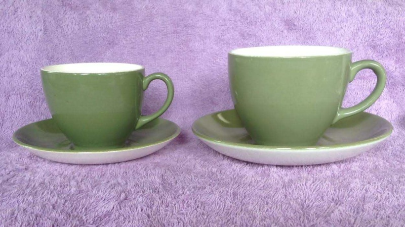 the 859 earthenware demitasse cup: South Pacific IGA Capri Wee Pets Bunny 859110
