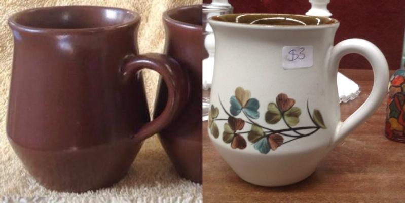 Which pieces of Crown Lynn were copied from overseas potteries? Denby10