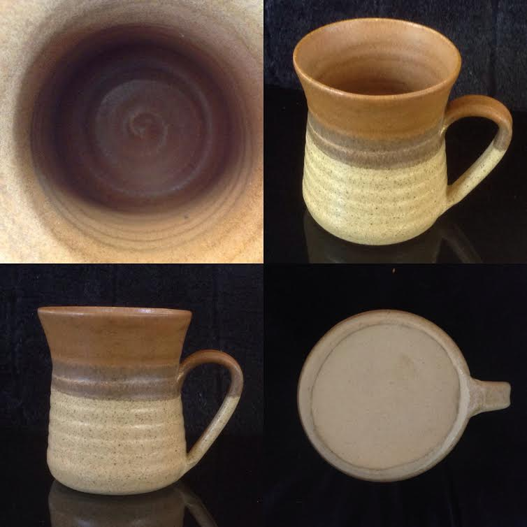 TWO handpotted Parker Pottery mugs Hpp110