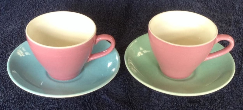The Cup on the left is Aero British the cup on the right is Rainbow British (so is it Crown Lynn Also) Rainbo11