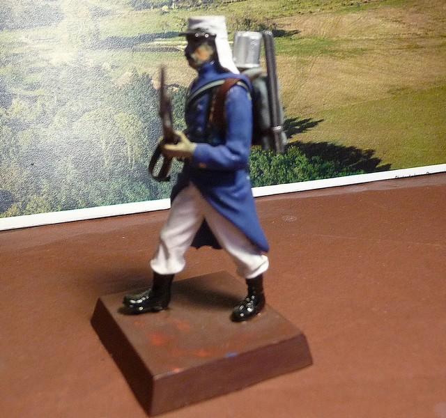LEGIONNAIRE FRANCAIS de 1908   - Trés ancienne figurine AIRFIX de 1976 P1050911