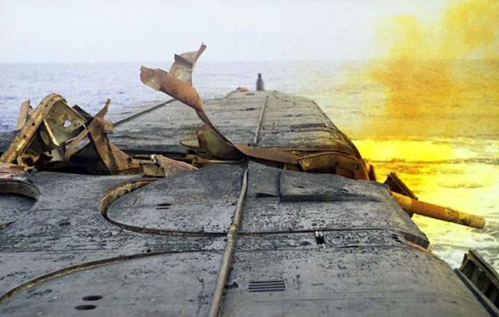 Incident et perte du K-219 (projet 667A Yankee-1) 10931210