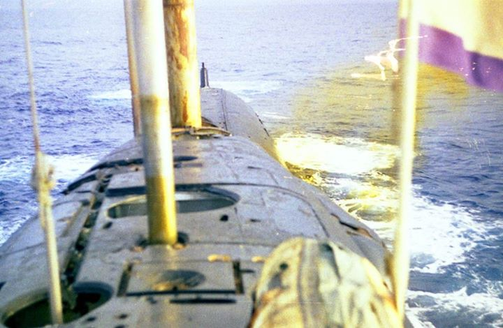 Incident et perte du K-219 (projet 667A Yankee-1) 99444910