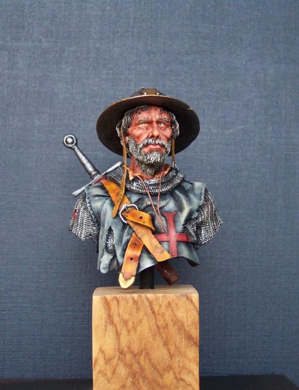 After the Battle, Büste von Andrea Miniatures in 1/10 fertig Fertig10